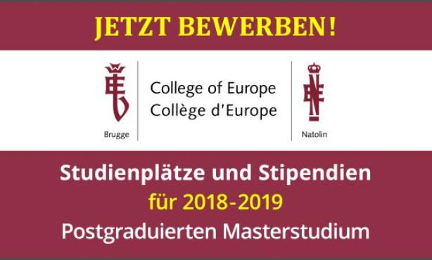 Sprungbrett nach Europa? – EBD veranstaltet Live-Chat mit Studiereden und Alumni des College of Europe