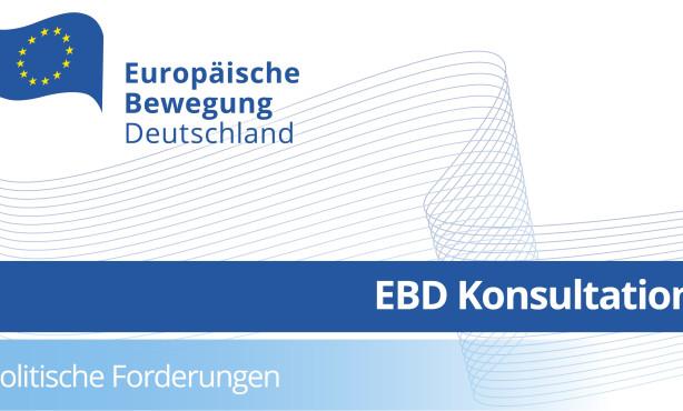 EBD Exklusiv | Zweite Konsultation zu den Politischen Forderungen 2016/2017