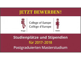 "EBD präsentiert College of Europe auf der ""Master and More"" 2017"