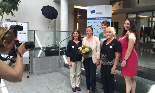 """Präsidium des """"Preis Frauen Europas"""" wiedergewählt"""
