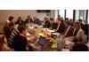 Halbzeitbilanz zu EBD-Politik und -Aktivitäten: Treffen des EBD-Vorstands