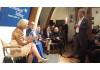 Bildungsministerin Wanka zu Bildung in Europa