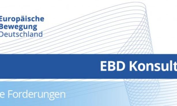 Europa kommunizieren: Partnerschaft im In- und Ausland | EBD Exklusiv