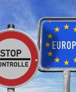Offene Grenzen in einem vereinten Europa!