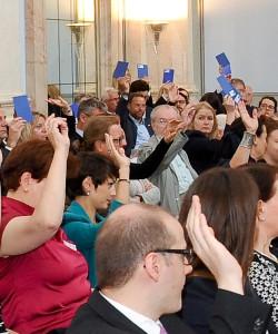 Die EU demokratisieren, Mitbestimmung stärken!