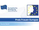 Preis Frauen Europas –  digitales Netzwerktreffen | 25.05.2020