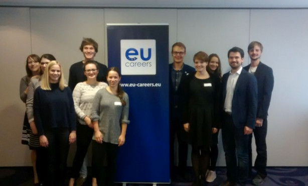 Start für die EU Careers Ambassadors 2016/17: Trainingsseminar in Brüssel