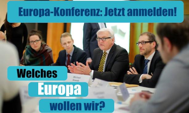 Welches Europa wollen wir? Townhall-Diskussion mit Bundesminister Steinmeier