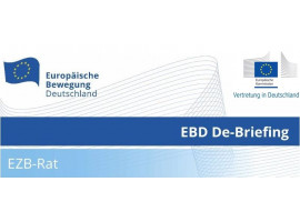 EBD De-Briefing | EZB-Rat