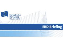"""EBD-Briefing: """"Europapolitik während der maltesischen Ratspräsidentschaft"""""""