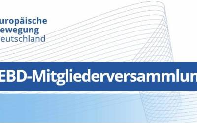 EBD-Netzwerk-Tag 2017 mit Mitgliederversammlung