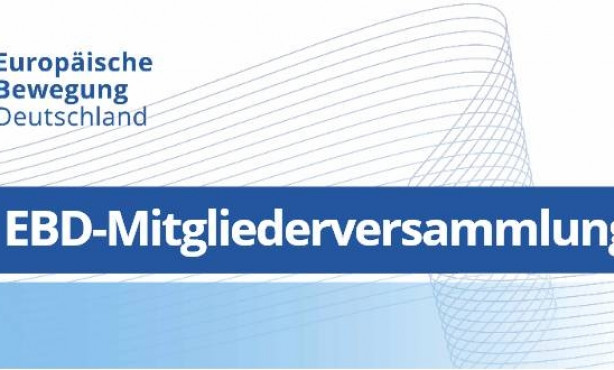 EBD Netzwerk-Tag 2017 mit Mitgliederversammlung