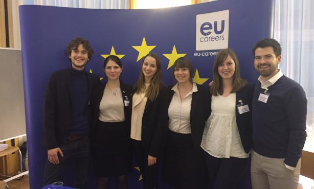 EU Careers Ambassadors auf Internationaler Karrieremesse im Auswärtigen Amt