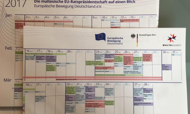 EBD-Kalender zur maltesischen EU-Ratspräsidentschaft erschienen