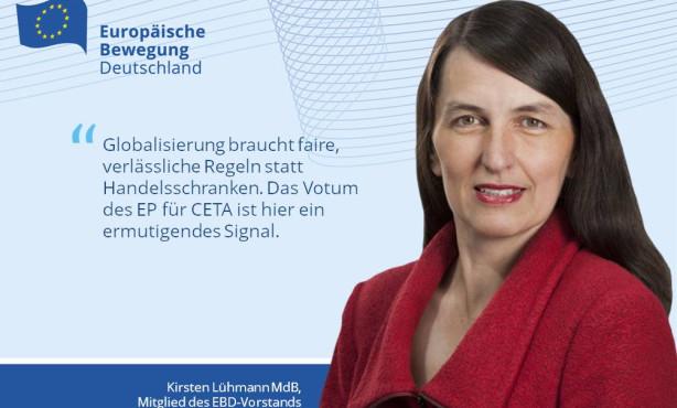 EP stimmt für CETA: Stimmen aus dem Netzwerk EBD