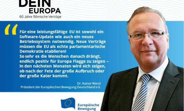 EU: Kater oder Aufbruch? EBD-Präsident Wend in der Huffington Post