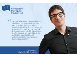 Tobi Köck: Bessere Bahn- und Jugendpolitik statt #FreeInterRail-Aktionismus