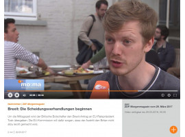 Artikel 50-Tag: ZDF Morgenmagazin besucht College of Europe in Brügge