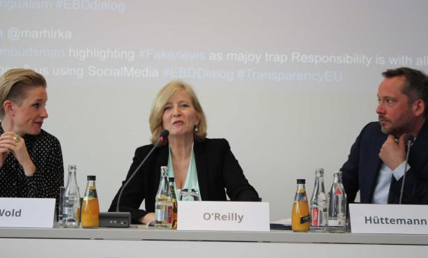 Nicht nur Transparenz sondern echter Durchblick | EBD Dialog mit Emily O'Reilly
