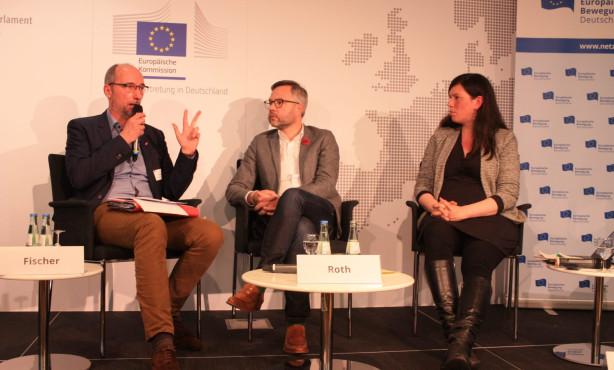 Wie sieht die Zukunft Europas aus? | EBD Staatsminister im Dialog