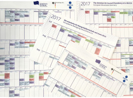EBD-Kalender zur estnischen EU-Ratspräsidentschaft erschienen