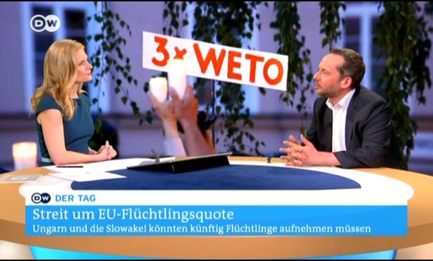 EBD-Generalsekretär Hüttemann kommentiert EuGH-Richtungsentscheide | Deutsche WelleTV