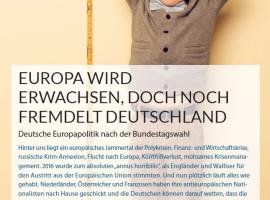 """Hüttemann im Verbändereport: """"Europa wird erwachsen, doch noch fremdelt Deutschland"""""""