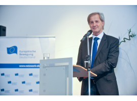 Farewell to an exemplary European | Event to mark the end of Jo Leinen's term of office