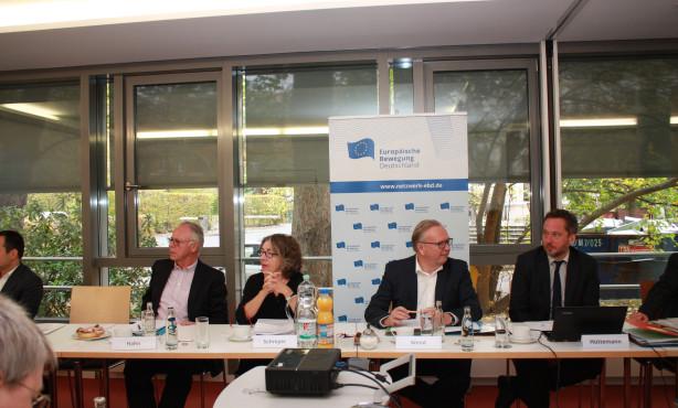 Zukunftsdebatten und strukturierter Dialog | Oktober-Sitzung des EBD-Vorstandes