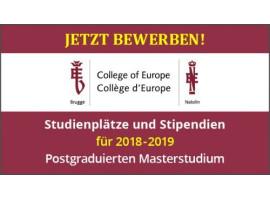 Besuch der deutschen Studierenden am College of Europe in Brügge