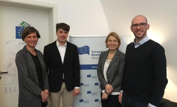 Die EBD vernetzt sich mit Litauen: Hintergrundgespräch zur Europakommunikation