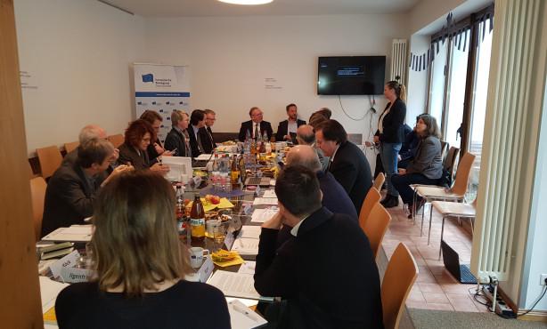 EBD zieht Bilanz und blickt ins neue Jahr | Dezember-Sitzung des Vorstands