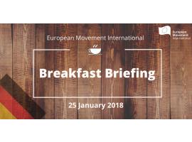 EMI | Breakfast Briefing über die deutschen Koalitionsverhandlungen
