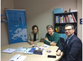 Frank Burgdörfer zu Besuch bei der Europäischen Bewegung Albanien