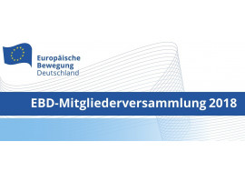EBD-Mitgliederversammlung