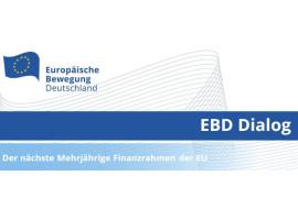 EBD Dialog | Der MFR der EU. Wohin steuern die EU-Finanzen?