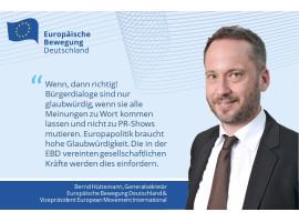 """Europa braucht hohe Glaubwürdigkeit"" – EBD zu Macrons Rede im Europaparlament"
