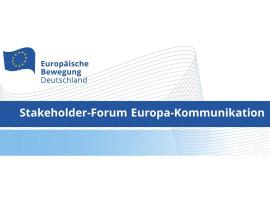 Stakeholder-Forum Europa-Kommunikation