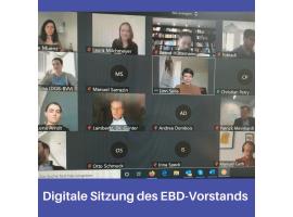 Sitzung des EBD-Vorstands | 29.05.2020