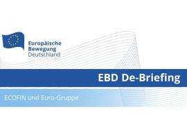 EBD De-Briefing ECOFIN und Euro-Gruppe | 13.07.2020