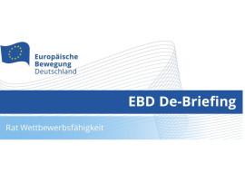 EBD De-Briefing Wettbewersfähigkeit | 31.05.2021