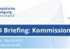 EBD Briefing: Kommission direkt mit Werner Hoyer, Präsident der EIB