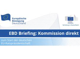EBD Briefing: Kommission direkt mit Phil Hogan, EU-Kommissar für Handel