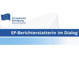 EP-Berichterstatterin im Dialog: Gabriele Bischoff