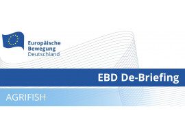 EBD De-Briefing AGRIFISH | 28.05.2021