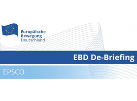 EBD De-Briefing EPSCO | 18.03.2020