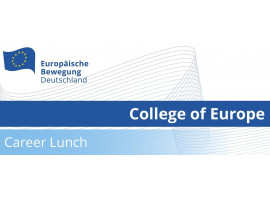 College of Europe Career Lunch | 10.12.2020