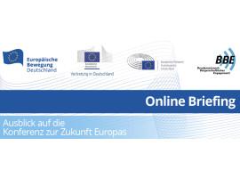 Online Briefing: Ausblick auf die Konferenz zur Zukunft Europas | 06.05.2021
