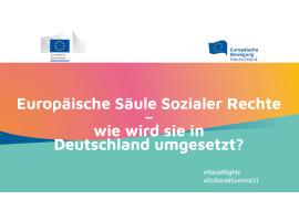 Europäische Säule Sozialer Rechte – wie wird sie in Deutschland umgesetzt?