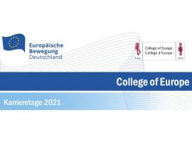 College of Europe | Karrieretage 2021 – Digitale Sprechstunde | 30.06.2021